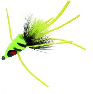 Betts 509-8-9 Pop-N-Fish Fly Popper Size 8 Assorted Floating