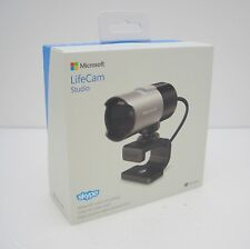 Microsoft LifeCam Studio Model 1425 WebCam USB Camera 1080p HD Q2F-00017 - Skype