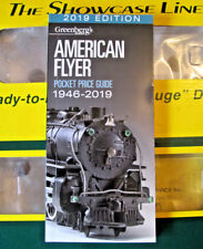2019 EDITION GREENBERG'S AMERICAN FLYER PRICE GUIDE,   MINT!   2019           D4