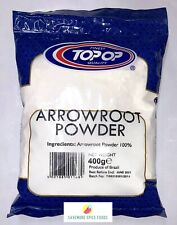ARROWROOT POWDER - STARCH FLOUR - TOP-OP - 2 x 400g