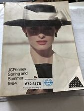 JC Penny 1984 Spring & Summer Catalog - With Halston Fashions