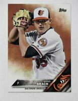 2016 Topps Update #US197 Brad Brach - NM-MT