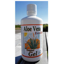 Aloe Vera Pulp 1000ml - double strength - maximum health - 25 days bottle - pure