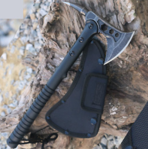 Outdoor Camping Tactical Tomahawk axe Survival Machete Hatchet Pepper Head Ax