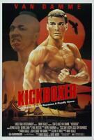 Kickboxer Movie POSTER 27 x 40 Jean-Claude Van Damme, Rochelle Ashana, A
