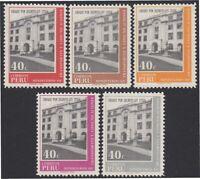 Peru 513/17 1970 Ministry Of Transport And Communications MNH
