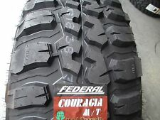 4 New 37X12.50R20  Inch Federal Mud Tires 37125020 37 1250 20 12.50 R20 M/T