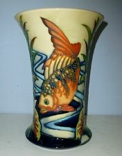 Fabulous MOORCROFT Limited Edition Fish Vase - DERWENT by Philip Gibson 2004