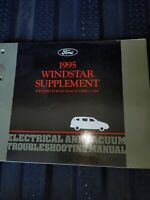 1995 Ford Windstar Electrical Vacuum Troubleshooting Manual Supplement