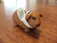 "Retired Schleich brown guinea pig D-73508 c.2002 original neck tag 5cm 2"""