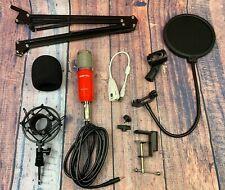 Zingyou Condenser Microphone Bundle Bm800 Pc Microphone Professional Cardio