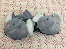 Kids Boys Girls Winter Glove Worm Cartoon Hand Puppet Baby Elephant Faux Far New