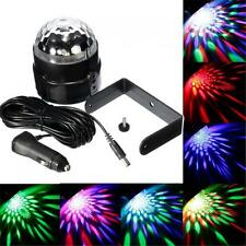 Car Power Supply 12V-24V 3W Colorful Sound Activated LED Disco Ball Stage Light