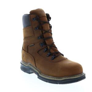Wolverine Marauder 8 W02163 Mens Brown Leather Work Boots