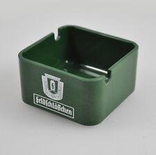 kleiner Aschenbecher Feldschlösschen AG Brauerei Braunschweig  - ashtray - grün