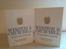 Winston S. Churchill Companion Vol I Parts 1 & 2, Heinemann, 1967, First/First