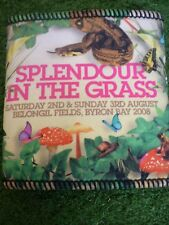 SPLENDOUR IN THE GRASS FESTIVAL TOUR 2008 BEER COOLER NEW.