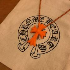 Chrome Hearts Rubber Necklace Orange 28 inch Aoyama 20th anniversary Limited F/S