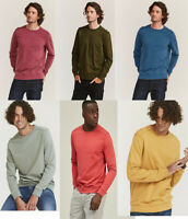 FAT FACE Mens Crew Round Neck Cotton Sweatshirt Jumper T shirt Top Tee S - 2XL