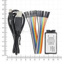 USB Logic Analyzer Device Set USB Cable 24MHz 8CH 8-channel 24MHz MCU ARM M100