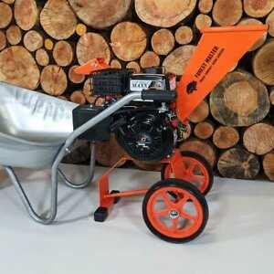 FOREST MASTER FM6DD Compact 6hp Petrol Garden Self feeding Wood Chipper Shredder
