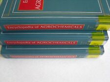 Encyclopedia of Agrochemicals 3 Vol Set Jack R. Plimmer Hardcover Copyright 2003