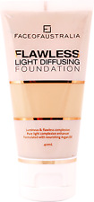 Face of Australia Flawless Light Diffusing Foundation, Beige 40mL