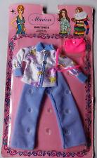 "Vintage - MARION Boutique fashion- Barbie CLONE Muñeca traje - Wenco para 11,5"""
