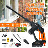 18V Cordless Pressure Cleaner Washer Gun Water Hose Nozzle Pump Kit   !