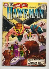 Brave and the Bold #35 (1961) VG (4.0) ~ Hawkman ~  Hawkgirl ~ Joe Kubert