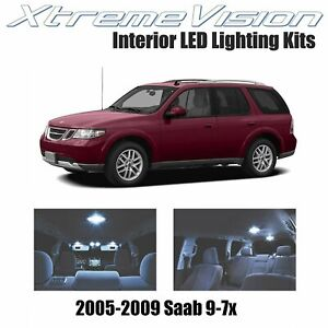 XtremeVision LED for Saab 9-7x 2005-2009 (10 Pieces) Cool White Premium Interior
