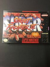 New Super Nintendo Super Street Fighter II Video Game FACTORY SEALED SNES