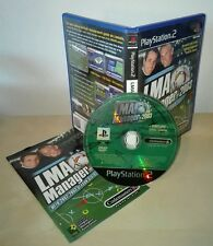 LMA MANAGER 2003 ps2 gioco game Sony PlayStation originale prima stampa