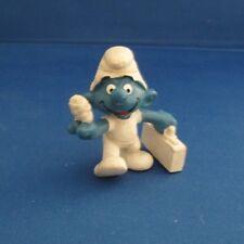Smurfs 20054 First Aid Smurf Doctor Vintage Schleich Figure Pvc 1978 Medic Nurse