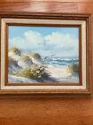 "Vintage Oil Painting Seascape Art 8""x 10"" Loomis Dean"