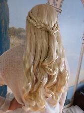 Danaria Khaleesi Perücke Blond lang Zöpfe - Game of Thrones Daenerys Targaryen