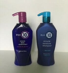 It's a 10 Miracle Moisture Shampoo & Daily Conditioner Set, 10 oz each, New