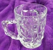 Tiffany & Co. Cut Crystal Mug from Germany Rockwell