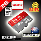 GENUINE SANDISK ULTRA 32GB micro SD Class 10 Card SAMSUNG GALAXY TAB 3 NOTE 2 S4