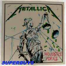 "HEAVY METAL ROCK  BAND ""METALLICA"" AUTHENTIC VINTAGE 80's CONCERT STICKER"