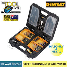 Dewalt DT9296 90 Piece Drilling And Screwdriving Kit With Carry Case