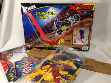 K'NEX Downhill Thrill Extreme 12026 Two Models 3 Feet High Vintage 2001 New!