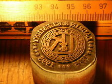 Laurique & Klement Logo belle Oldtimer CACHET/sceau en métal