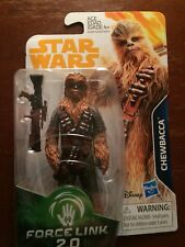 """STAR WAR FORCE LINK 2.0 3.75"""" ACTION FIGURE CHEWBACCA NIP READY TO SHIP"""