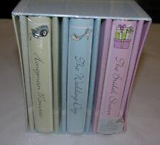 3-Piece New Wedding Photo Album Set - Bridal Library
