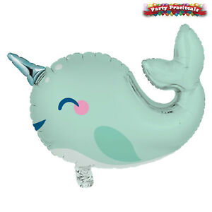 NARWHAL Birthday Party Range - Tableware Decorations fun Under The Sea Unicorn