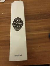 SAMSUNG Galaxy Watch 3 45 mm Bluetooth, Smartwatch, Echtleder, neu, ungeöffnet