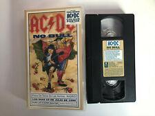 AC/DC VHS TAPE NO BULL PLAZA DE TOROS LAS VENTAS MADRID 1996 ACDC