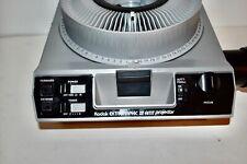 Kodak Ektagraphic Iii Amt 35Mm Slide Projector W/tray & Manual #66