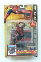 Toy Biz Spider-Man 2 Movie Super Poseable Spider-Man Action Figure (Rare) NOS